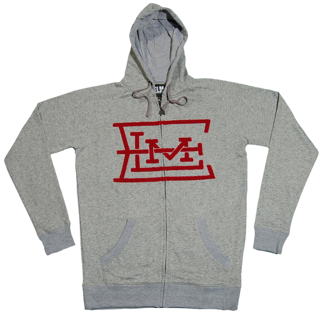 <!--2012030628-->Elm - 'Monogram' [(Gray) Hooded Sweatshirt]