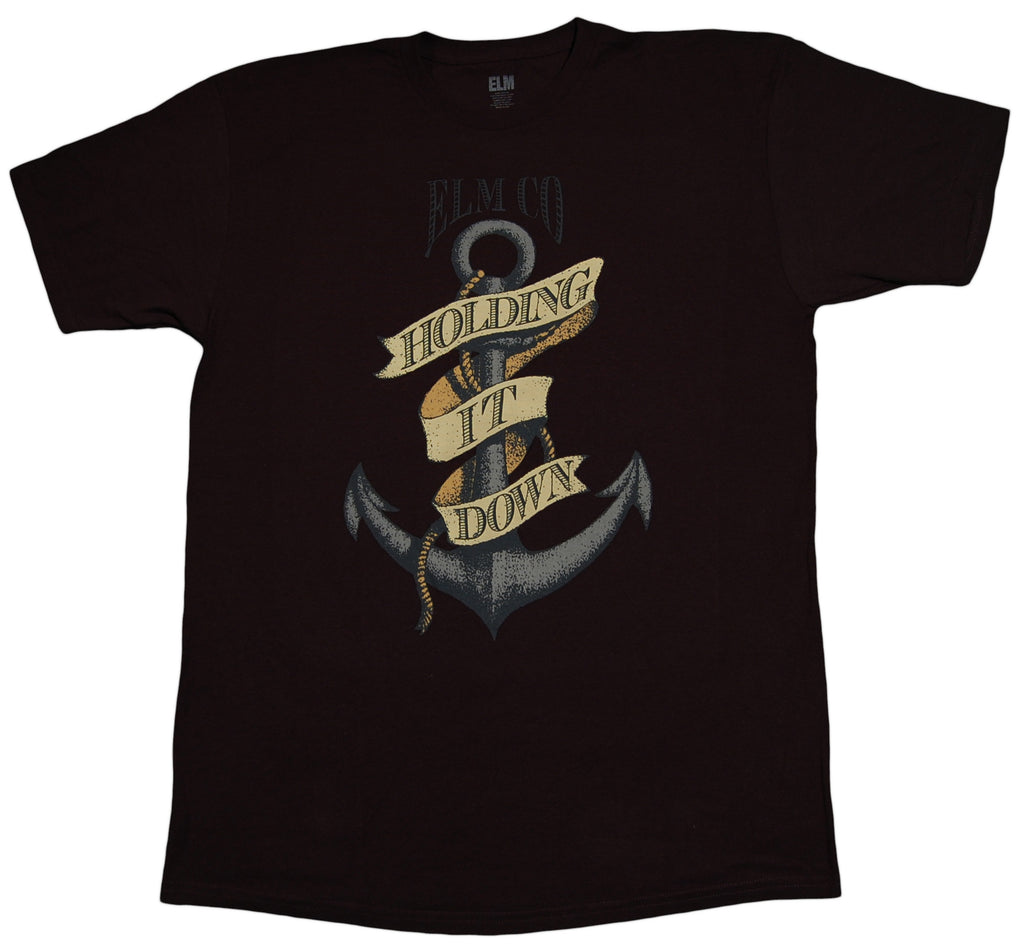 <!--2013031225-->Elm - 'Down Anchor' [(Black) T-Shirt]