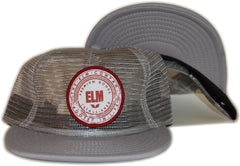 <!--020120501044113-->Elm - 'Premium Seal Trucker' [(Gray) Snap Back Hat]