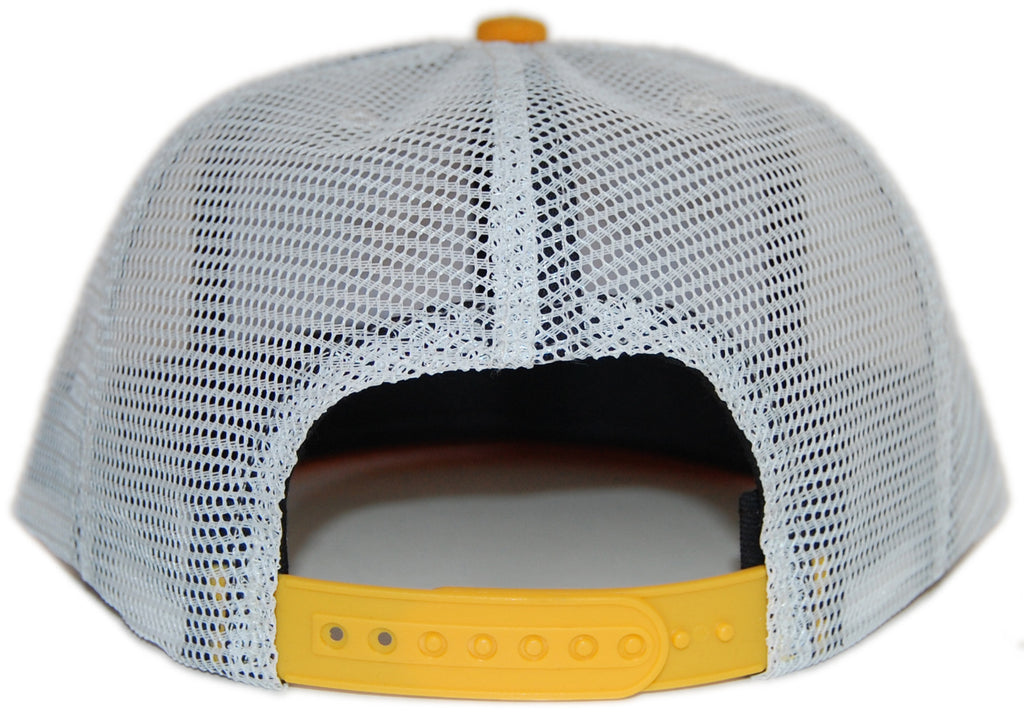 <!--020120731048009-->Elm - 'Benchmark Trucker' [(Dark Blue) Snap Back Hat]
