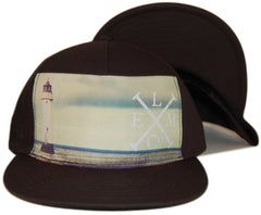 <!--020130416055859-->Elm - 'Beacon' [(Black) Snap Back Hat]
