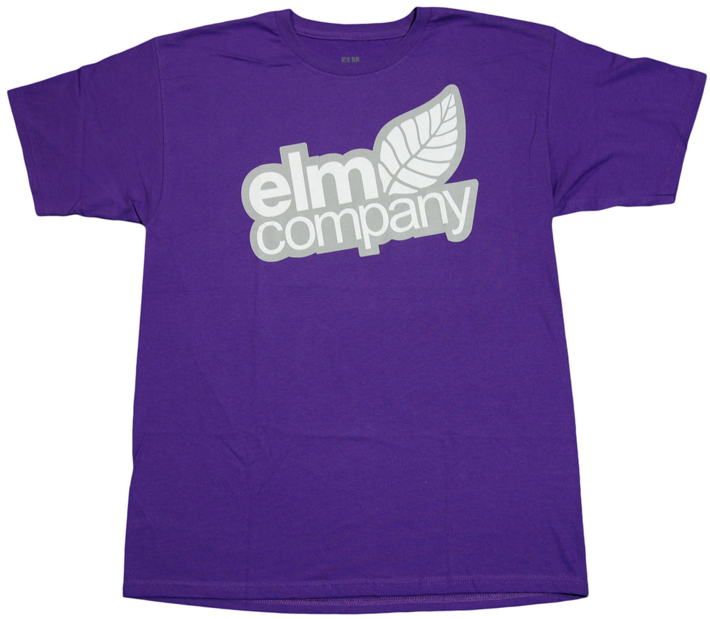 <!--2011101841-->Elm - 'Logo' [(Purple) T-Shirt]