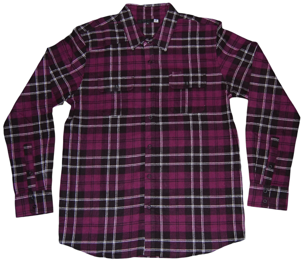 <!--2011101838-->Elm - 'Hamilton Flannel' [(Purple) Button Down Shirt]