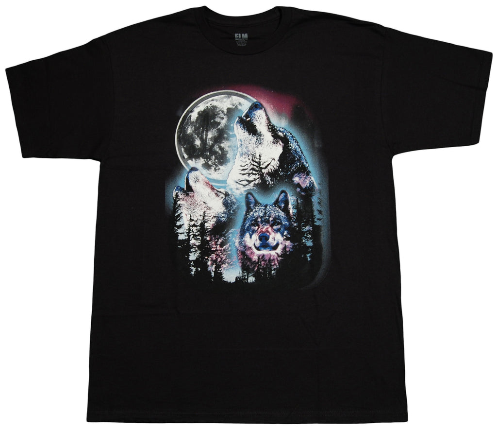 <!--2012111316-->Elm - 'Wolf Pack' [(Black) T-Shirt]