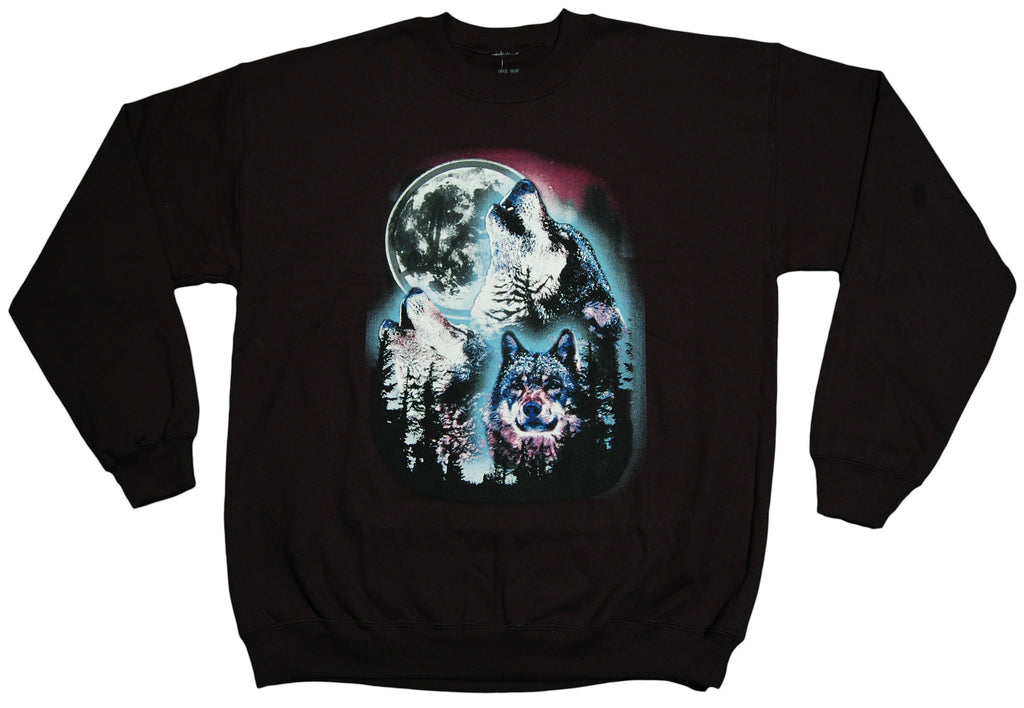 <!--2012111320-->Elm - 'Wolf Pack' [(Black) Crewneck Sweatshirt]