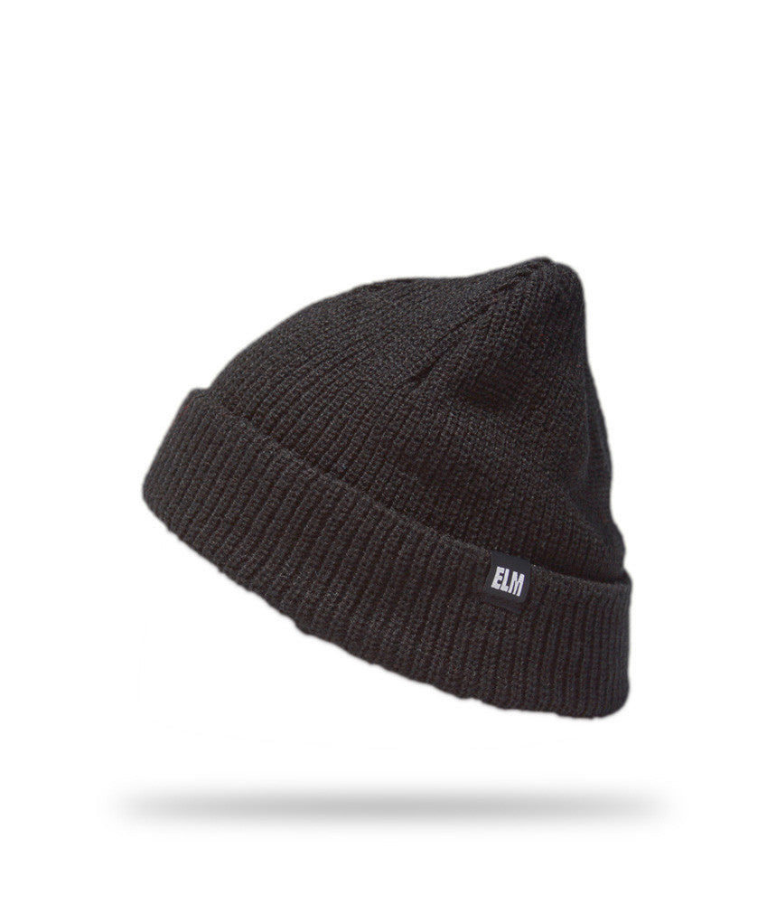 <!--020121113051740-->Elm - 'Standard' [(Black) Winter Beanie Hat]
