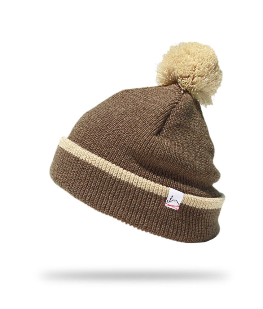 <!--020121113051752-->Elm - 'Pom Pom Standard' [(Dark Green) Winter Beanie Hat]