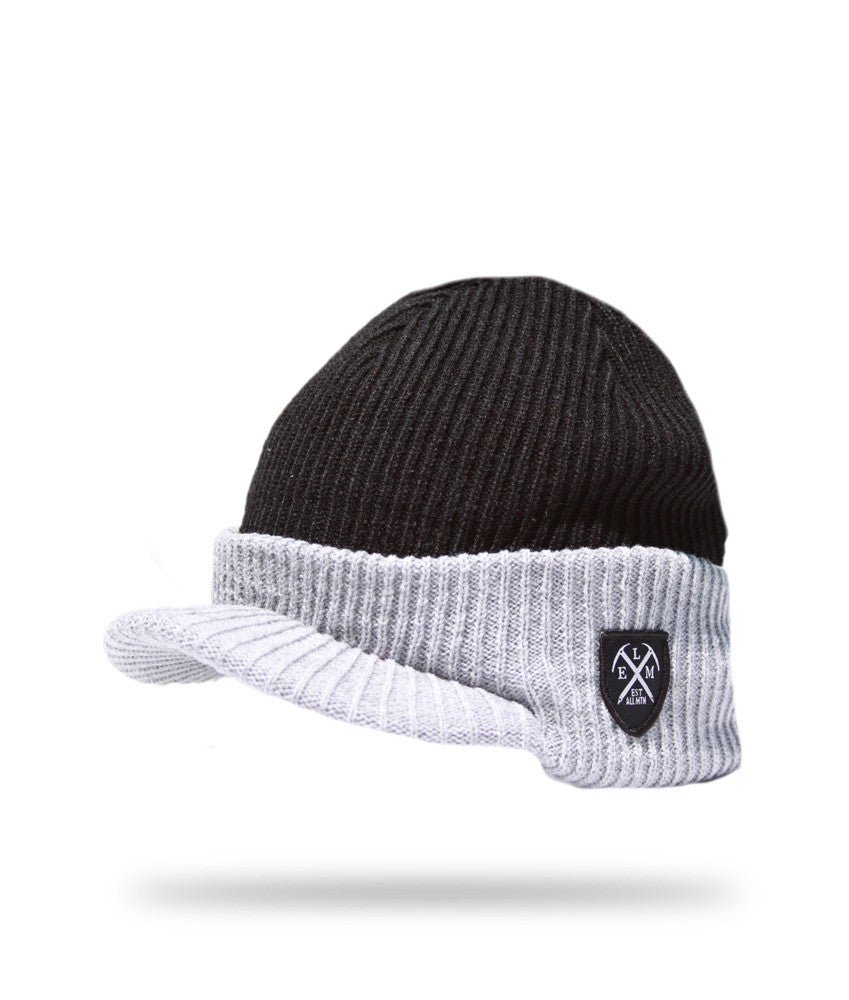 <!--020121113051726-->Elm - 'Wilson' [(Black) Winter Beanie Hat]