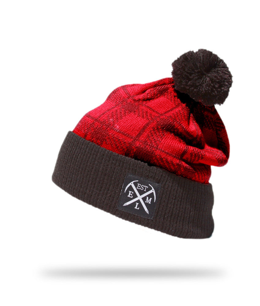 <!--020121113051727-->Elm - 'Summit' [(Red) Winter Beanie Hat]