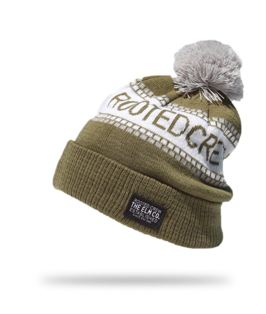 <!--020121113051780-->Elm - 'Crew' [(Dark Green) Winter Beanie Hat]