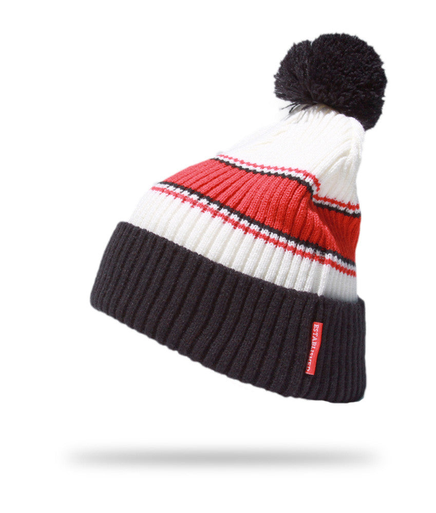 <!--2012111347-->Elm - 'Laurence' [(Red) Winter Beanie Hat]