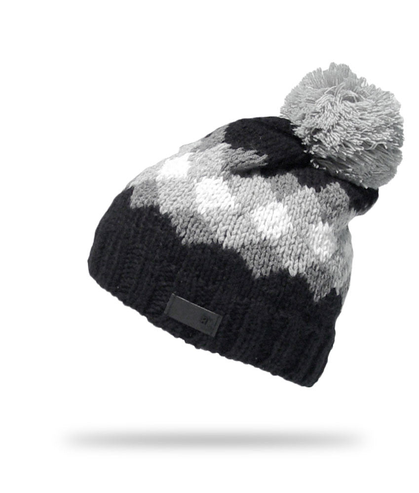 <!--020121113051784-->Elm - 'Canterbury' [(Black) Winter Beanie Hat]