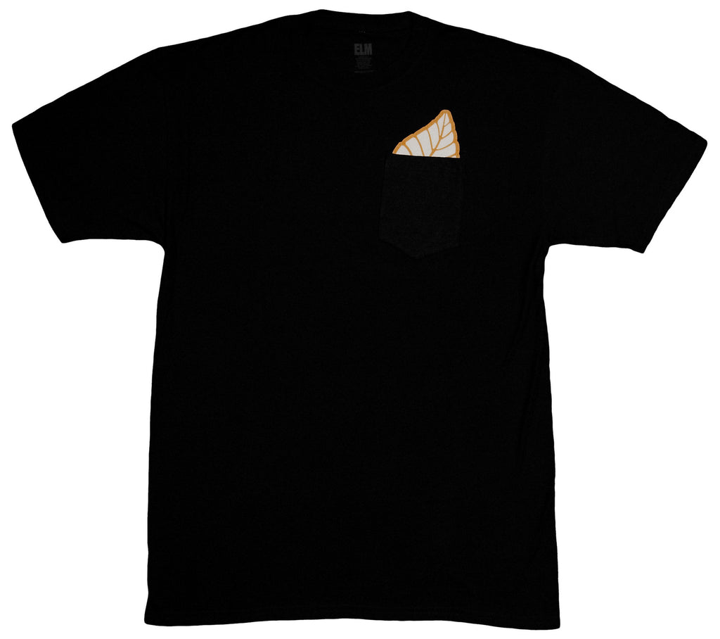 <!--2013102956-->Elm - 'Pocket Leaf' [(Black) T-Shirt]