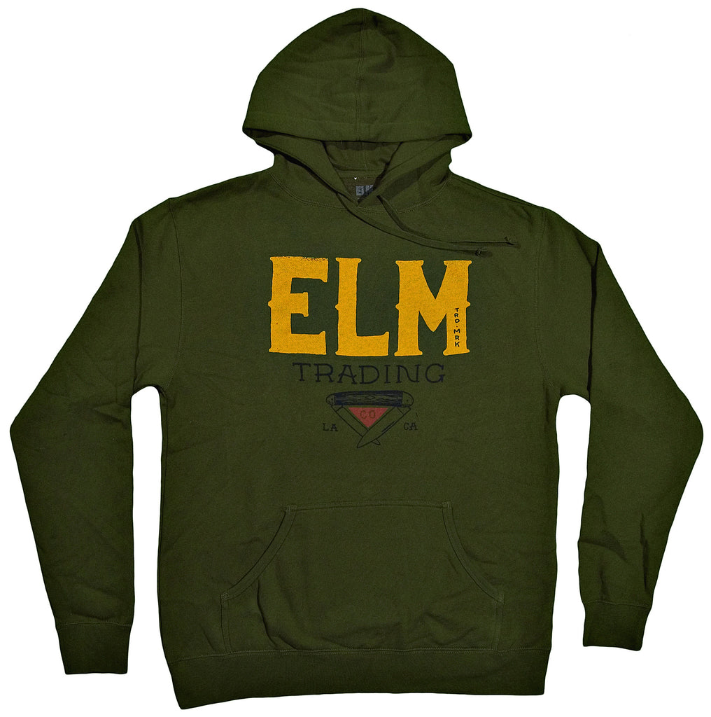 <!--2013102923-->Elm - 'Stockman' [(Dark Green) Hooded Sweatshirt]