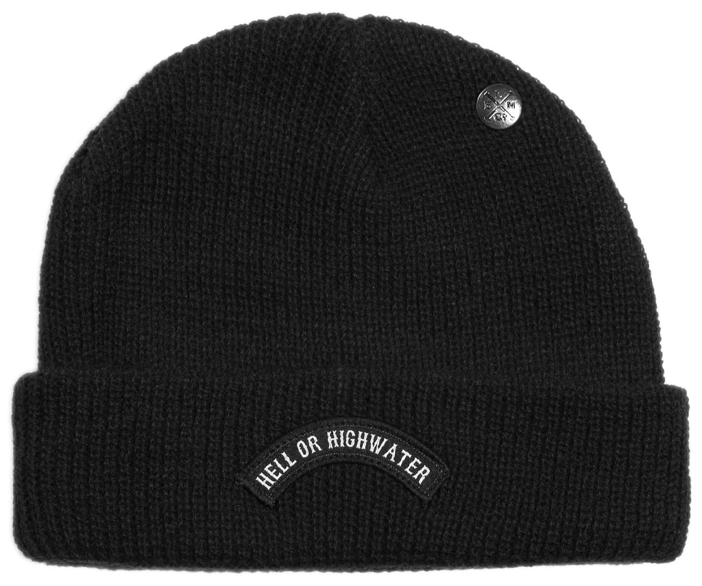 <!--020131029060958-->Elm - 'Teller' [(Black) Winter Beanie Hat]