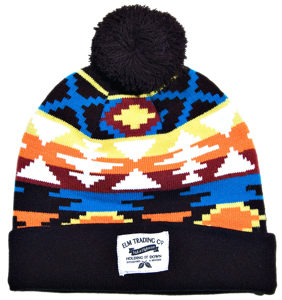 <!--020131029060968-->Elm - 'Dakota' [(Black) Winter Beanie Hat]