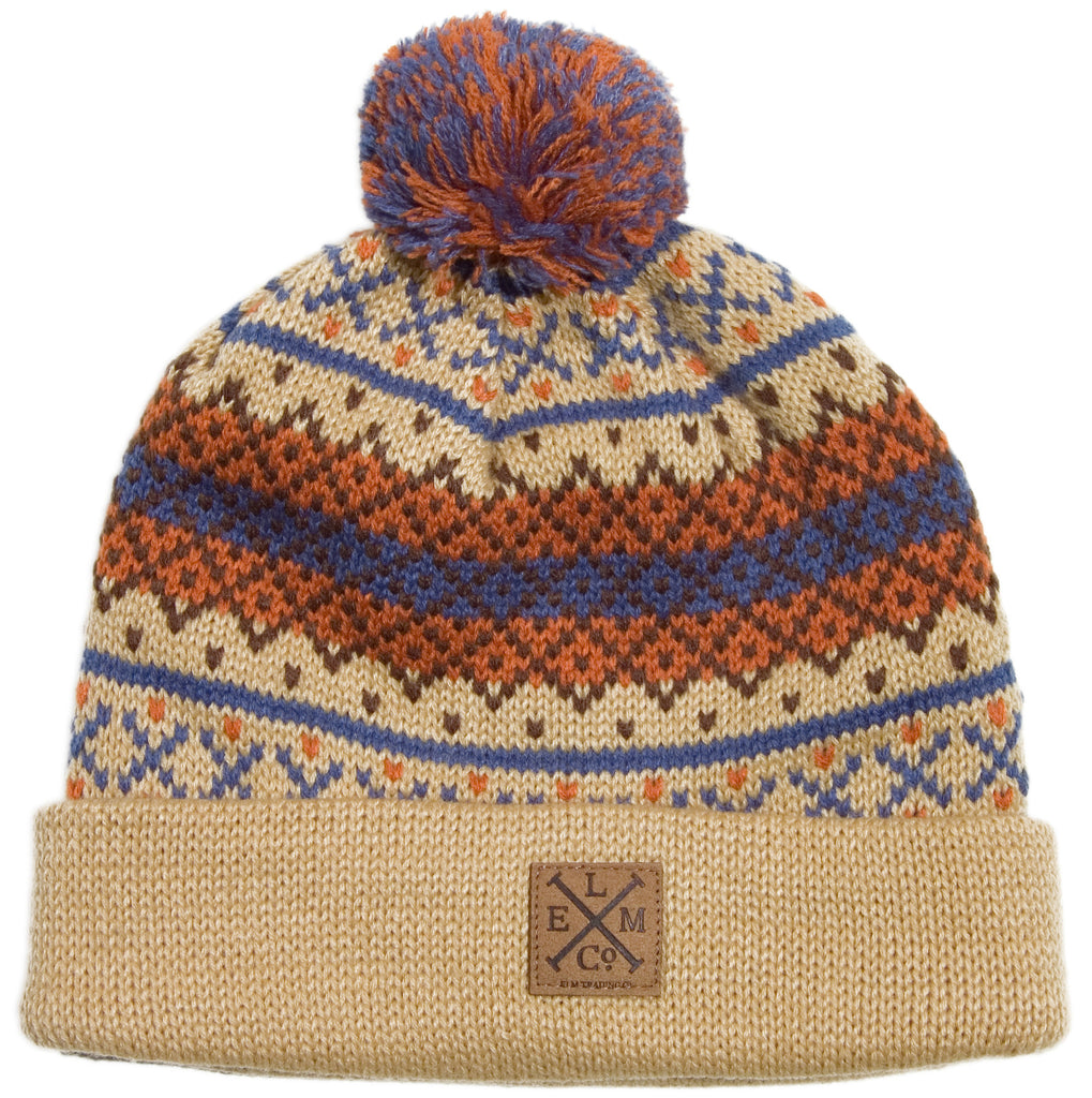 <!--020131029060972-->Elm - 'Alpine - Khaki' [(Light Brown) Winter Beanie Hat]
