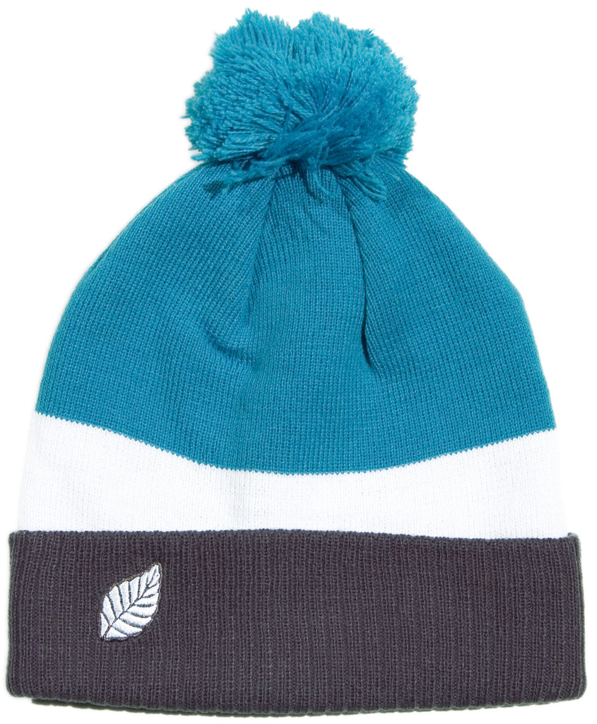 <!--2013102900-->Elm - 'Breaker - Cyan' [(Dark Gray) Winter Beanie Hat]
