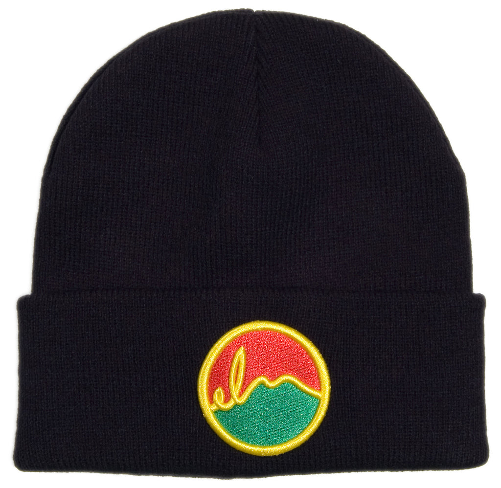 <!--2013102927-->Elm - 'Rasta - Benchmark' [(Black) Winter Beanie Hat]