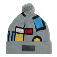 <!--020141006066367-->Entree - 'Mondrian' [(Gray) Winter Beanie Hat]