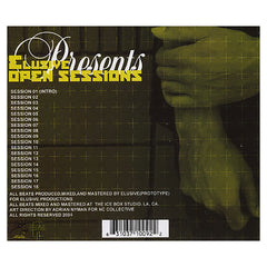 <!--020040803012235-->Elusive - 'Open Sessions Vol. 1' [CD]