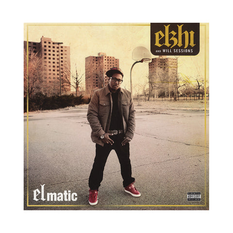 Elzhi & Will Sessions - 'Elmatic (Re-Issue)' [(Black) Vinyl [2LP]]