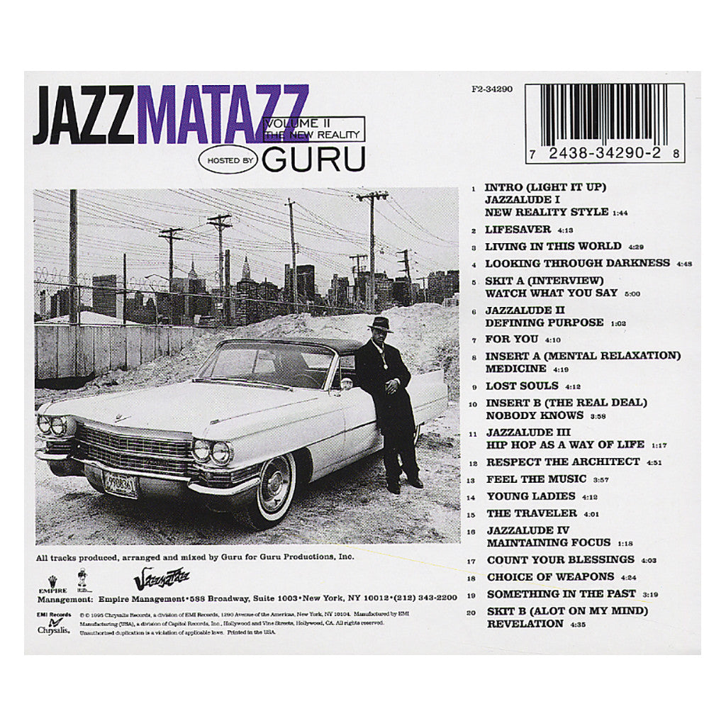 <!--019950718003214-->Guru - 'Jazzmatazz Vol. 2: The New Reality' [CD]