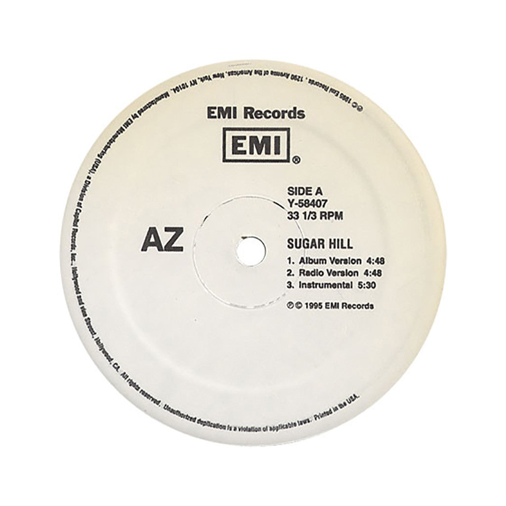 <!--2012021403-->AZ - 'Sugar Hill (INSTRUMENTAL)' [Streaming Audio]