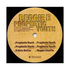 "<!--020080909014862-->Reggie B. - 'Prophetic Youth/ It Gets Better/ Prophetic Youth (Morgan Zarate Remix)/ Reggie Shuffle' [(Black) 12"""" Vinyl Single]"
