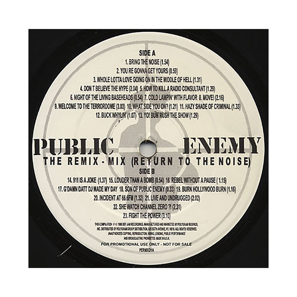 <!--1998010120-->Public Enemy - 'The Remix-Mix (Return To The Noise)' [(Black) Vinyl LP]