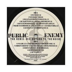 Public Enemy - 'The Remix-Mix (Return To The Noise)' [(Black) Vinyl LP]