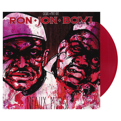 Ron Jon Bovi - 'Neaux Mursi' [(Clear Red) Vinyl LP]