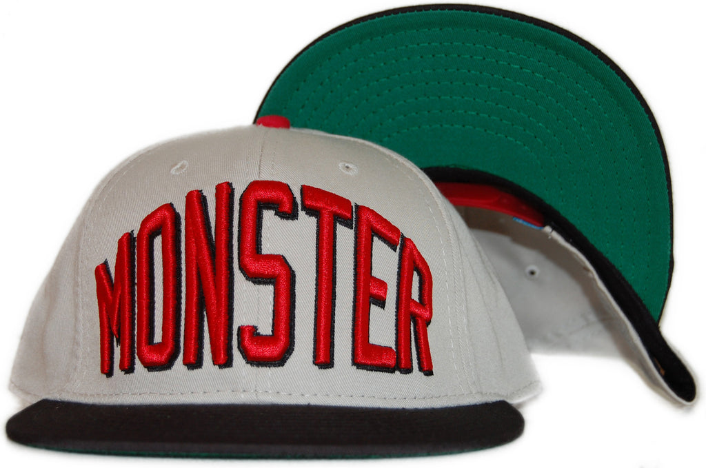 <!--020110927036296-->Entree - 'Monster' [(Natural) Snap Back Hat]