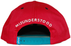 <!--020110927036294-->Entree - 'Teddy Silhouette' [(Red) Snap Back Hat]