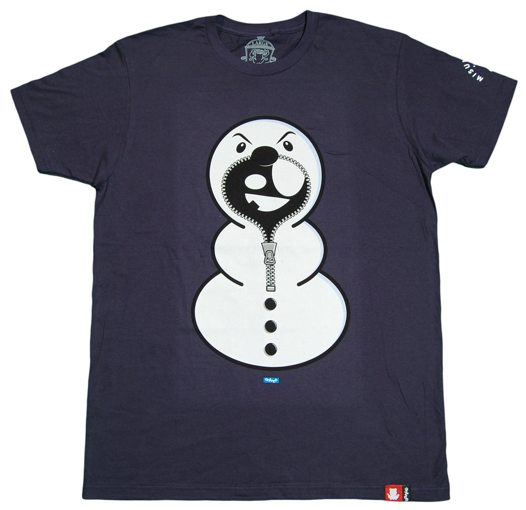 <!--2012090443-->Entree - 'Snowman' [(Dark Blue) T-Shirt]
