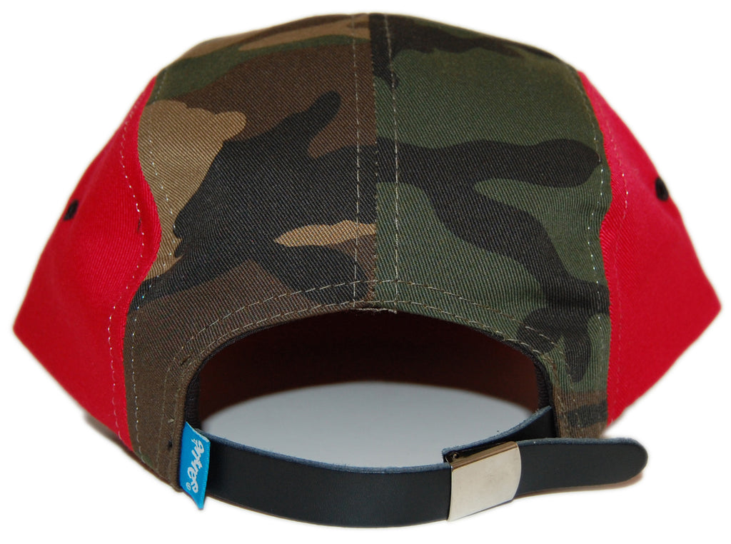 <!--020120904048666-->Entree - 'Watermelon Camo' [(Camo Pattern) Five Panel Camper Hat]
