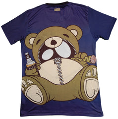 <!--2013090353-->Entree - 'Giant Detox Teddy' [(Dark Blue) T-Shirt]