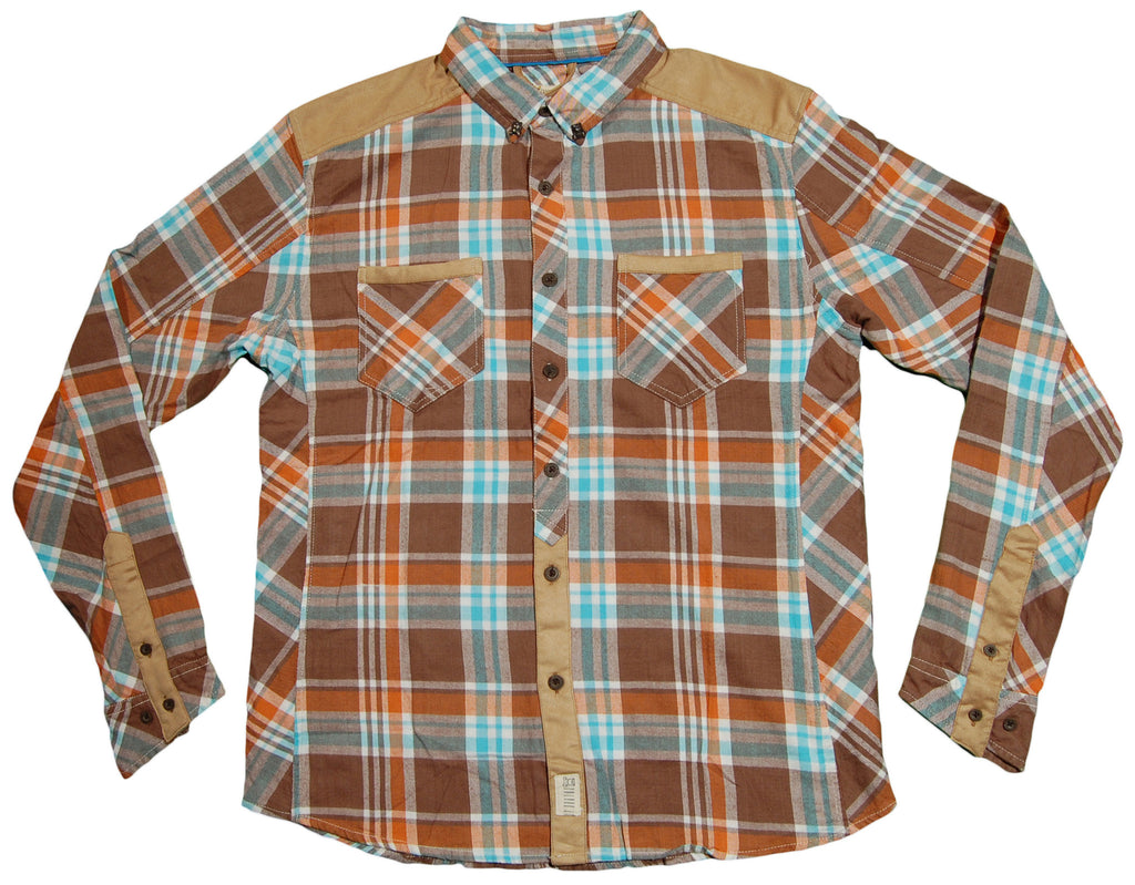 <!--2013090303-->Entree - 'Dylan' [(Brown) Button Down Shirt]