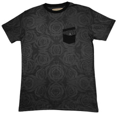 <!--2013090315-->Entree - 'Black Rose' [(Black) T-Shirt]