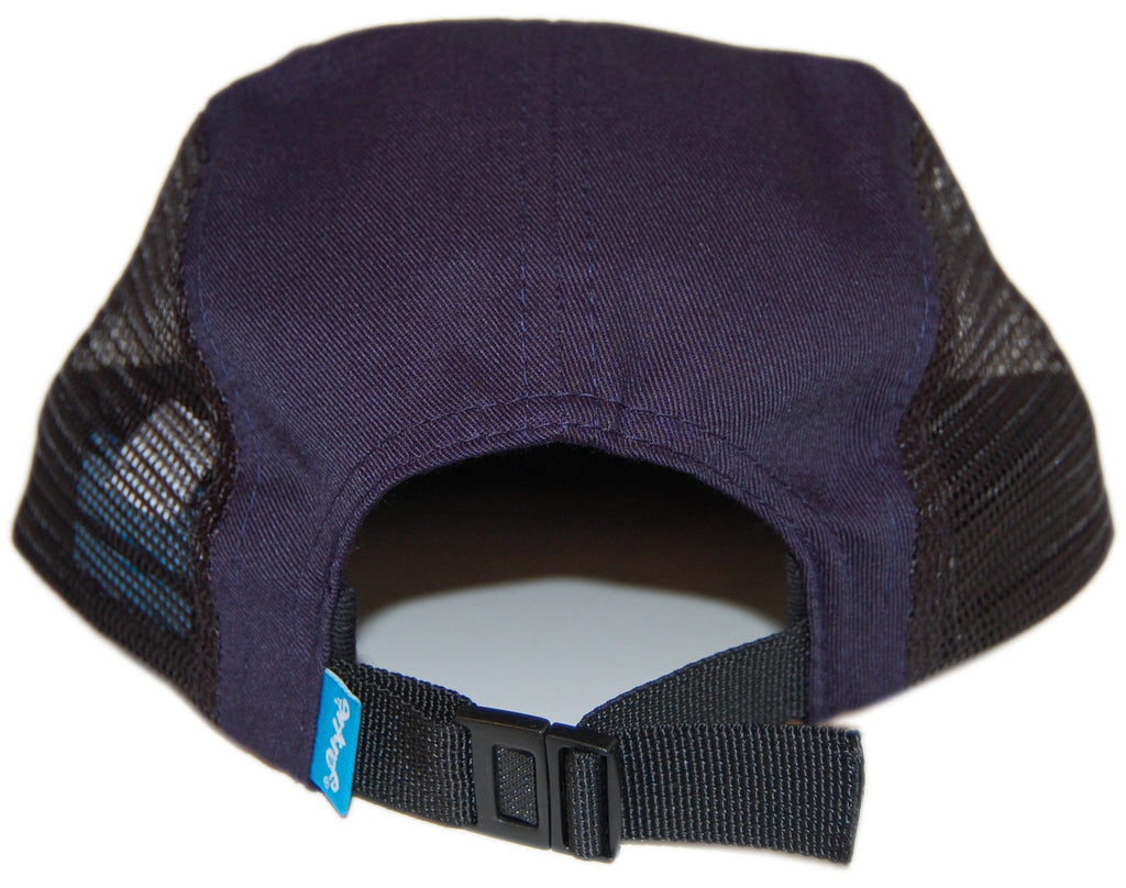 <!--020121030051047-->Entree - 'Teddy Flag' [(Dark Blue) Five Panel Camper Hat]