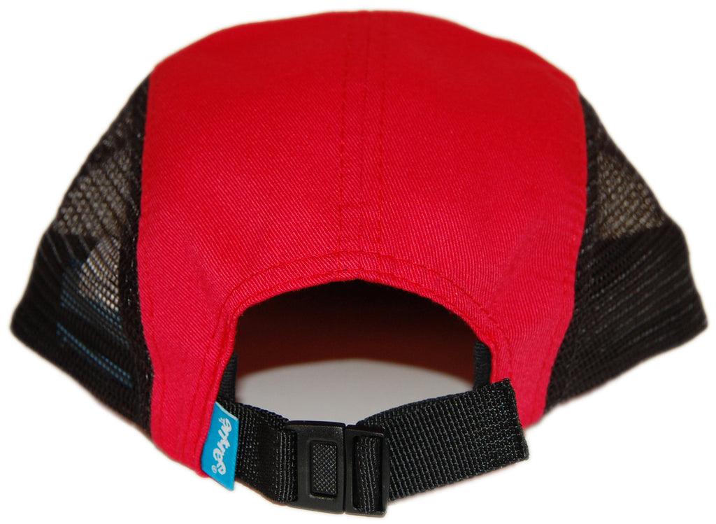 <!--020121030051046-->Entree - 'Teddy Flag' [(Red) Five Panel Camper Hat]