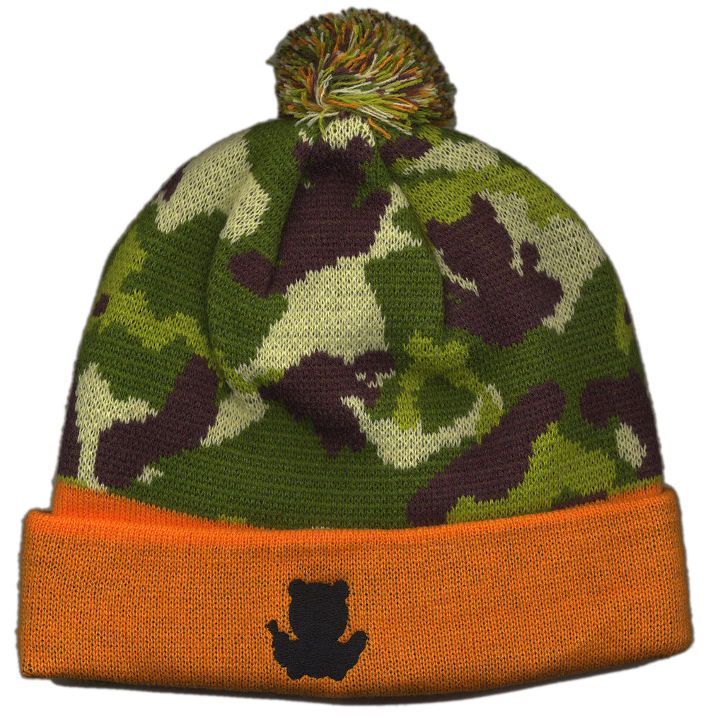 Entree - 'Camo Teddy' [(Orange) Winter Beanie Hat]