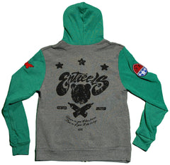 <!--2012103020-->Entree - 'Preppy Patch' [(Gray) Hooded Sweatshirt]