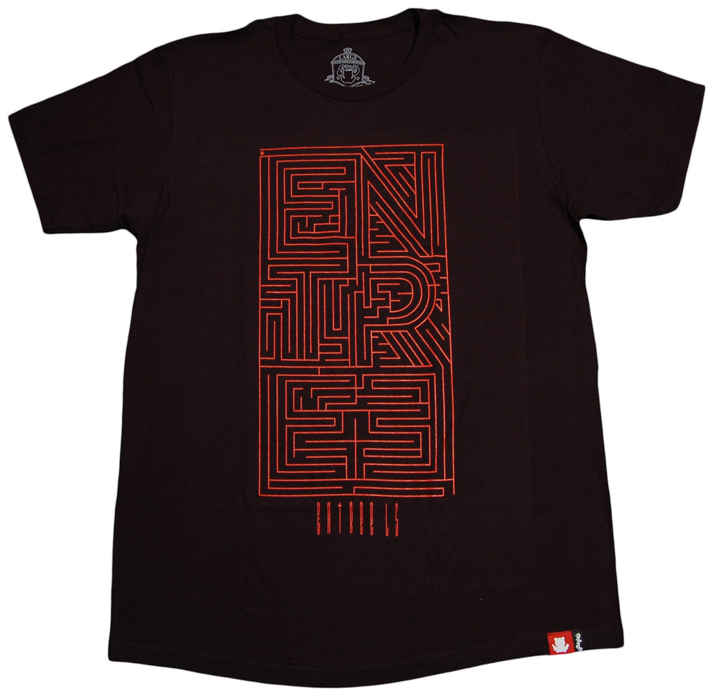 <!--2012120408-->Entree - 'The Maze' [(Black) T-Shirt]