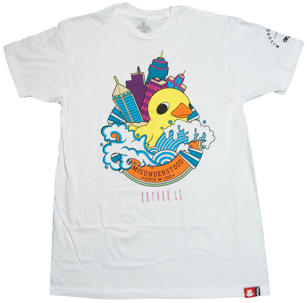 <!--2012120449-->Entree - 'Rubber Duck' [(White) T-Shirt]