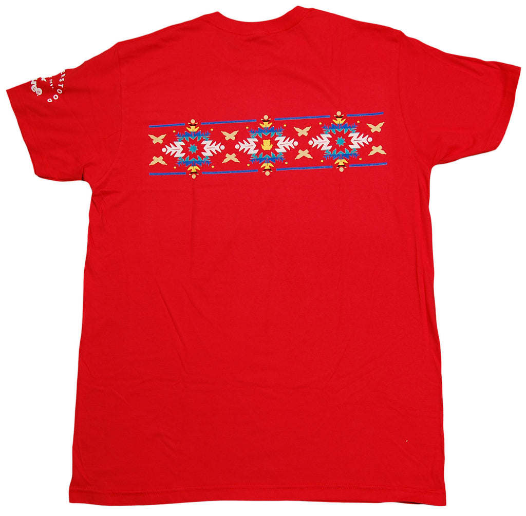 <!--2012120403-->Entree - 'Aztec Snowflake' [(Red) T-Shirt]