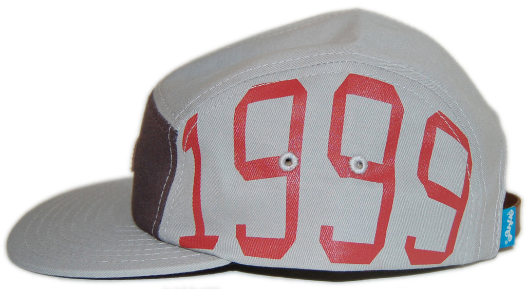 <!--020121204052410-->Entree - 'Unknown 1999' [(Gray) Five Panel Camper Hat]