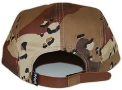 <!--020121204052412-->Entree - 'Silhouette Teddy - Desert Storm/ Red' [(Camo Pattern) Five Panel Camper Hat]