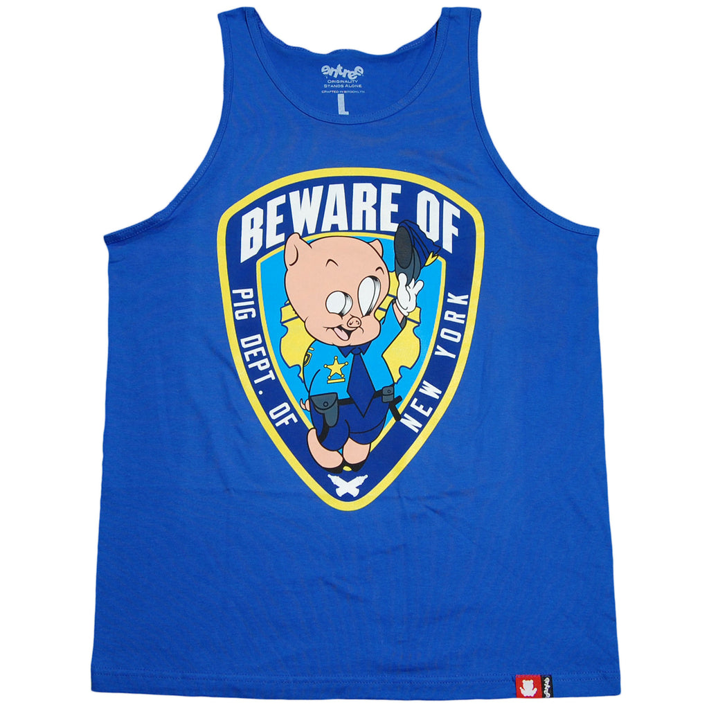 <!--2012032049-->Entree - 'Beware Of' [(Blue) Tank Top]