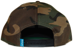 <!--020120320043199-->Entree - 'Unknown Gold' [(Camo Pattern) Snap Back Hat]